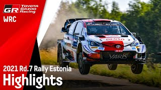 WRC 2021 Rd.7 RALLY ESTONIA HIGHLIGHTS