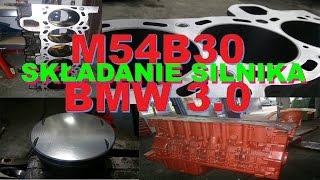 M54B30 SKŁADANIE SILNIKA BMW 3.0 E46 Z3 E39 REMONT KAPITALNY