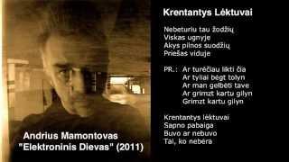 """Video thumbnail of """"Andrius Mamontovas - Krentantys Lėktuvai"""""""