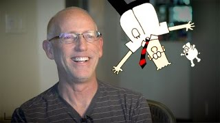 "Dilbert's Scott Adams On Politics, Philosophy, Hypnosis, And ""Failing Towards Success"""