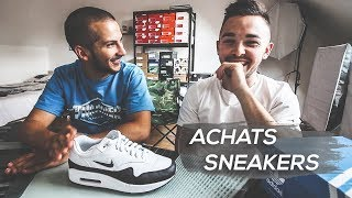 NOS ACHATS SNEAKERS (Air Max, Boost... ) - Avec Nico