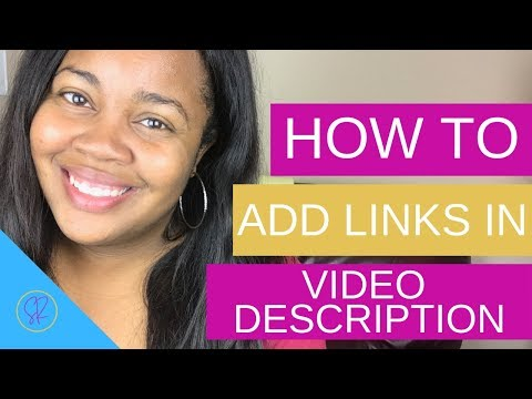 How To Add Links In Your YouTube Description