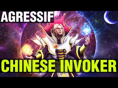 CHINESE INVOKER, BEST INVOKER ! - AGRESSIF - Dota 2