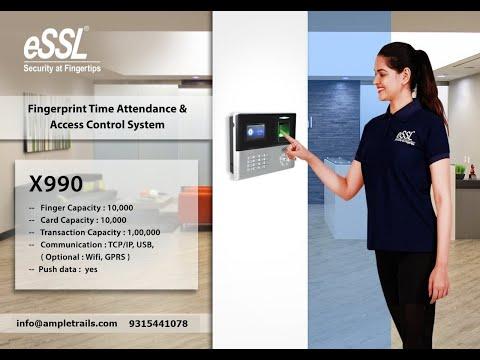 Essl X990 Biometric Attendance Machine Supplier Gurgaon