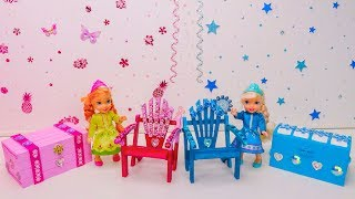 Elsa and Anna toddlers room makeover