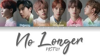 NCT 127   No Longer (나의 모든 순간) (Color Coded Lyrics EngRomHan가사)