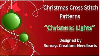Christmas Cross Stitch Patterns | Christmas Lights