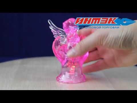 """Статуэтка со световыми эффектами (в ассортим). """"Ангел"""" Арт.AXF061402"""