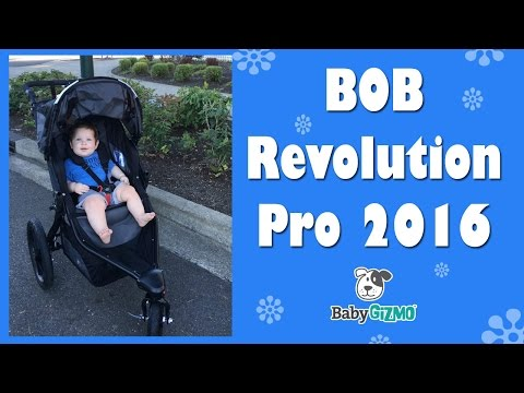 BOB Revolution PRO 2016 Jogging Stroller Review
