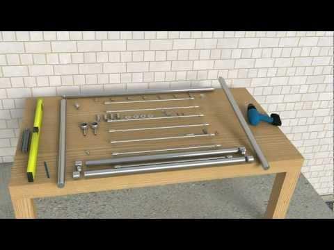 9. Montageanleitung französischer Balkon Systemgeländer Edelstahl Balkongeländer Bausatz