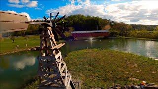 """Covered Bridge"" Milton, West Virginia cinematic fpv /4k drone footage"