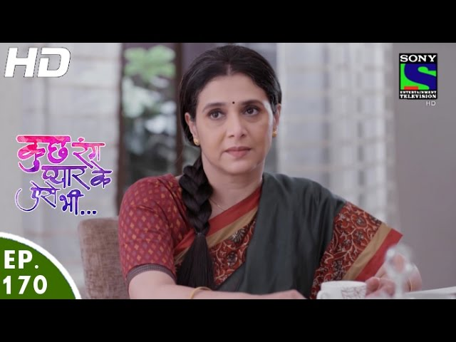 Kuch Rang Pyar Ke Aise Bhi – 24th October, 2016 – Full Episode