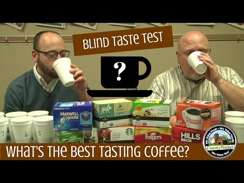 What's the Best Tasting Coffee: Blind Taste Test