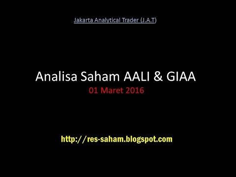 Analisa Saham AALI & GIAA  01 Maret  2016 (Blackbox HYBRID & Indikator Jakarta Analytical Trader)