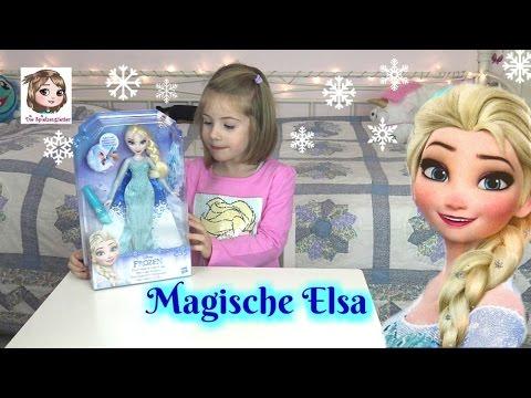 ELSA ❆ Die Eiskönigin mit magischem Umhang und Zauberstab | Hasbro