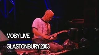 Gambar cover Moby 'Porcelain' Live at Glastonbury