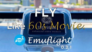 Sunset flight | Emuflight 0.3.1 test flight | FPV DRONE Cinestyle | TBS Fusion