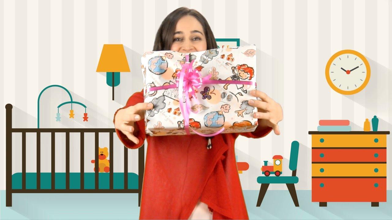 Cómo envolver los regalos de los niños