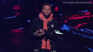 Bugha Wins the Best Esports Player Award Presented by Stephen Curry | The Game Awards 2019