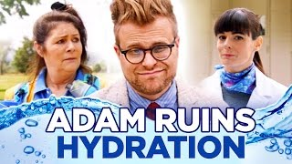 Why You Don't Need 8 Glasses of Water a Day | Adam Ruins Everything