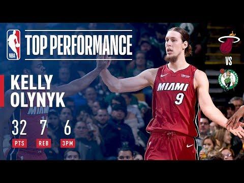 Kelly Olynyk Scores CAREER-HIGH 32 Pts vs. Celtics   December 20, 2017