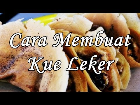 Video Cara Membuat Kue Leker Enak Simple - Resep Kue Kering