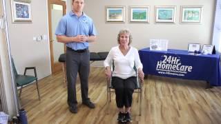 Physical Therapy Exercises for Seniors: Chair Exercises for the Lower Body - 24Hr HomeCare