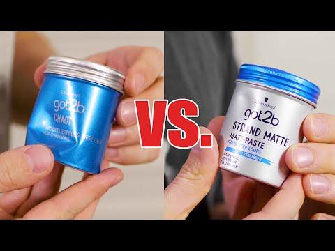 got2b Strandmatte vs. got2b Chaot | Review und Meinung | Haarstyling Drogeriemarkt