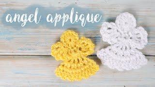 Crochet Angel Applique
