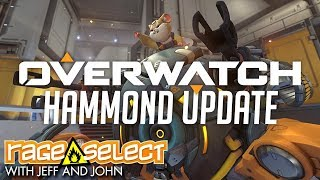 Overwatch: Hammond Character Update (Let's Play)