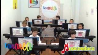 María tenía un corderito - Grupo de alumnos de Mi Teclado 1 - Tararea Laboratorio Musical