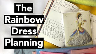 Plan With Me: House Of Worths Rainbow Dress - First Costume Plan Of 2020!