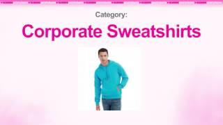 Branded Comfort Colors Adult Crewneck Sweatshirt | Corporate Sweatshirts