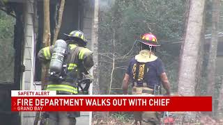 Grand Bay Fire Chief suddenly quits, some volunteer firefighters walk out - NBC 15 WPMI