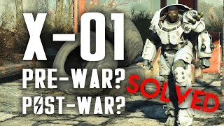 Solved! Was the X-01 Power Armor Built Before or After the Great War? - Fallout 4 Lore - dooclip.me