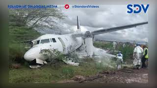 Silverstone airplane crashes at Wilson Airport runway