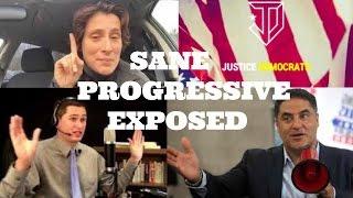 Sane Progressive Loses Her Mind Justice Democrats