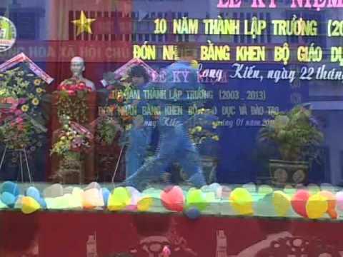 10 năm thành lập trường THCS Long Kiến - Chợ Mới - An Giang - phần 2
