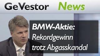 BMW-Aktie: Razzia und Rekorde bringen Wechselbad der Gefühle