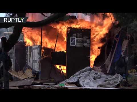 COVID-19 | Lebanese  protesters camp dismantled due to virus measures