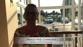 Nancy's Holy Communion party
