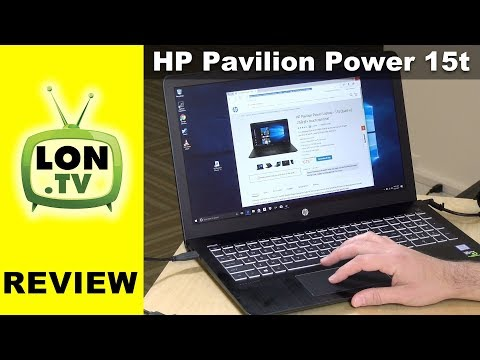 HP Pavilion Power Gaming Laptop 15t Review – 2017 Low Cost with GTX 1050 !