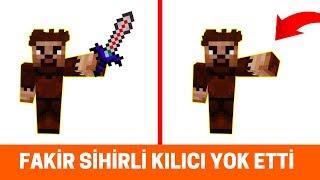 ZENGİN VS FAKİR #226 - Fakir Sihirli Kılıcı Yok Etti (Minecraft)