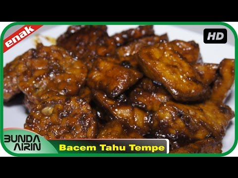 Video Bacem Tahu Tempe - Resep Masakan Indonesia Rumahan Mudah Simpel Recipes Indonesia Bunda Airin