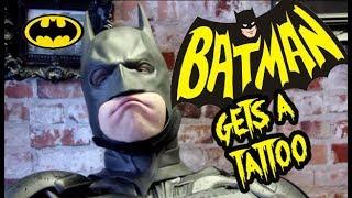 Batman Gets A Tattoo || Skinworkx