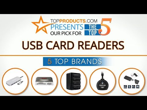 Best USB Card Reader Reviews 2017 – How to Choose the Best USB Card Reader