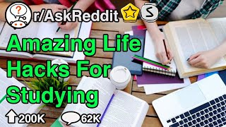 Best Tips To Help You Study 10x Better...(r/AskReddit)