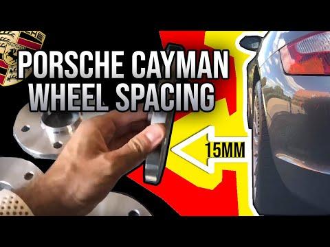 Porsche Cayman 987 Wheel Spacing