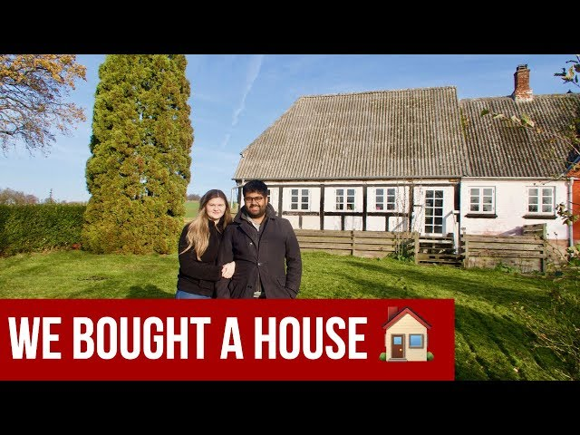 MAJOR UPDATE: We Bought a House! (Empty House Tour)