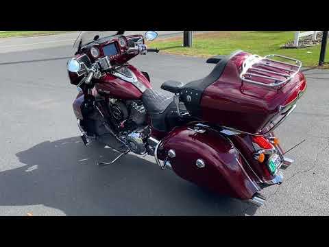 2017 Indian Roadmaster® in Westfield, Massachusetts - Video 1